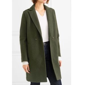 J. Crew | Daphne Wool Coat in Olive Size 0
